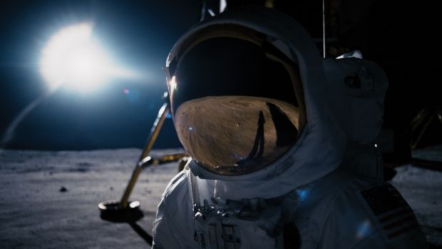 Ryan Gosling stars as Neil Armstrong in First Man. Photograph: Universal Pictures
