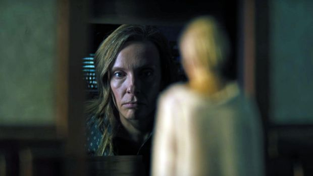 Toni Collette is chilling in Ari Aster's Hereditary. Photograph: A24