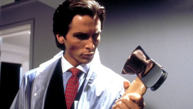 Christian Bale in American Psycho, a bloody satire of 1980s excess. Photograph: Lionsgate Films
