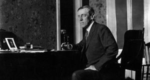 Woodrow Wilson, the 28th US president: the White House played down his Spanish flu, referring to the illness as a mere cold. Photograph: Topical Press Agency/ Getty