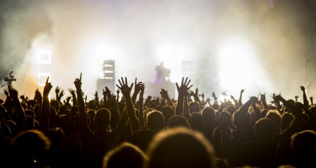At their best, music gigs can make me shiver with happiness. Photograph: Getty