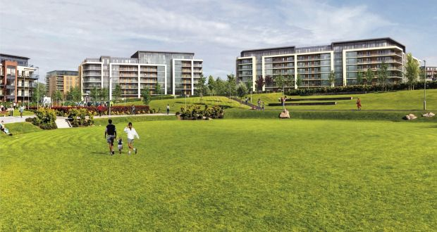 A computer-generated image of the apartments German fund DWS acquired for €200m from the Cosgrave Property Group at Cheevers Court and Haliday House in Dún Laoghaire. The private rented sector (PRS) market has accounted for 35% of turnover so far in 2020