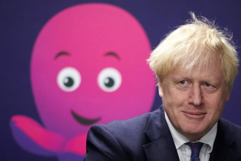 SPREADING ITS TENTACLES: British prime minister Boris Johnson visits the headquarters of Octopus Energy in London. The visit coincides with the company's plan to create 1,000 new technology jobs across sites in England. Photograph: Leon Neal/AFP/Getty