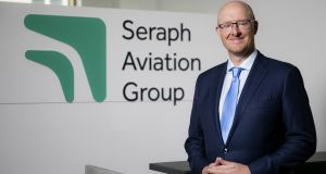 David Butler, chief executive, Seraph Aviation Group, said the new brand and identity was an exciting milestone for the company.  Photograph: Chris Bellew/ Fennell Photography