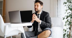 Remote working is changing employees' dress habits. Photograph: iStock