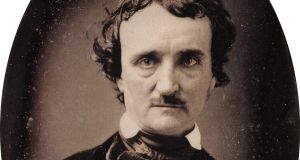 Edgar Allan Poe: spooky coincidence. Photograph: Getty Images