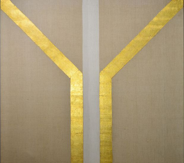 Patrick Scott's Gold Painting will be auctioned at de Veres' online sale, €10,000-€15,000