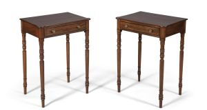 A pair of Regency side tables from the collection of Ib Jorgensen will be auctioned at Adam's sale, €4,000-€6,000