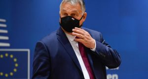 Hungary's prime minister Viktor Orban:  The European Commission is seeking to bring Hungary to book for repeated breaches of EU legal standards. Photograph: Johanna Geron/Reuters