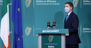 The deficit for this year is expected to be over €21 billion, or six per cent of GDP, the Minister for Finance Paschal Donohoe indicated today. Photograph: Julien Behal Photography/PA