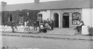 A 'temperance bar' in Lisdoonvarna, Co Clare, circa 1900. Photograph: National Library of Ireland/ Flickr Commons