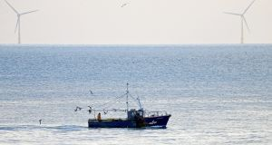 The directive from the department had banned trawlers over 18m from fishing within the six-mile limit. File photograph: Donall Farmer/The Irish Times