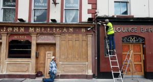 Mulligans pub on Poolbeg Street, like all other pubs that don't serve food, has remained closed since March. Photograph: Laura Hutton / The Irish Times