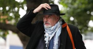 Ian Bailey arriving at the High Court in July. File photograph: Brian Lawless/PA