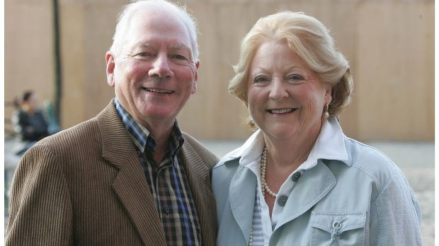Gay Byrne and Kathleen Watkins were married for more than 50 years. Photograph: Alan Betson