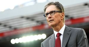 Liverpool owner John W Henry is said to have been contemplating the great crack in the English football pyramid for years. File photograph: Getty Images