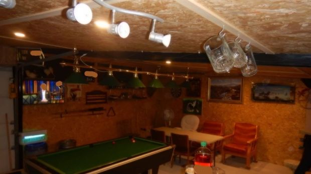 One of the unlicensed premises which was searched. Photograph: An Garda Síochána