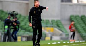 Ireland manager Stephen Kenny has not made any alterations to his squad for the trip to Finland. Photo: Ryan Byrne/Inpho