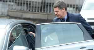 Minister for Finance Paschal Donohoe is expected to take his lead for motoring issues from the Tax Strategy Group proposals. Photograph: Dara Mac Dónaill / The Irish Times