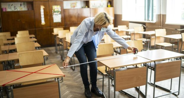 The vast majority of primary school principals feel overwhelmed by the scale of extra tasks and challenges linked to the Covid-19 pandemic, according to a new study. Photograph: iStock