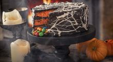 Enjoy some Halloween fun with this bewitching cake