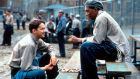 The Shawshank Redemption: For me there isn't even the compensation of long, thoughtful conversations with Morgan Freeman or the hope we might escape this by crawling through a pipe full of sewage.