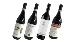 The four Langhe Nebbiolo.