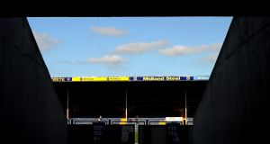 A general view of Semple Stadium. Photograph: James Crombie/Inpho