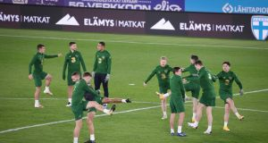 Nations League: Finland v Republic of Ireland, Olympic Stadium, Helsinki, 5pm Irish time – Live Sky Sports Main Event. Photograph: Inpho