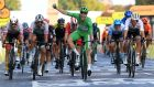 Sam Bennett finished the Tour de France as only the fifth rider since the race first started finishing on the Champs-Élysées to win the last stage while also wearing the green jersey. File photograph: Getty Images