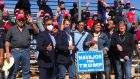 US election highlights divisions within Native American Navajo Nation