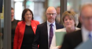 Minister for Health Stephen Donnelly said the additional beds would represent a 25 per cent increase in critical care capacity in a single year. Photograph: Nick Bradshaw/The Irish Times