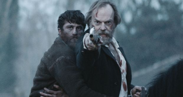 James Frecheville and Hugo Weaving in Lance Daly's 'Black 47'