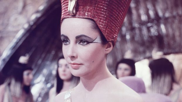 Actor Elizabeth Taylor in the title role from the movie Cleopatra in 1963. Photograph: Camerique/Getty Images