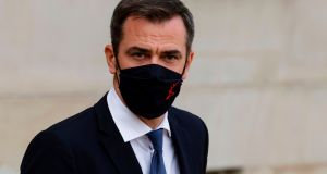 French health minister Olivier Véran. Photo by Ludovic Marin/AFP via Getty