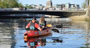 A Liffey trip with City Kayaking, Dublin
