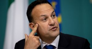 Leo Varadkar told party colleagues  that in order for the State to go to Level 4 or Level 5, he would need to be convinced it was the right thing to do. Photograph:  Tom Honan/ Julien Behal Photography