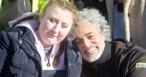 Baz Ashmawy with Amy Mulcahy in DIY SOS, Sunday on RTÉ One