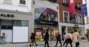 The closure of a dozen Pamela Scott stores is just the latest example of financial stress in the retail sector. Photograph: Crispin Rodwell