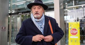 If Ian                   Bailey doesn't quite relish the notoriety, he has                   never done a lot to dampen it down. Photograph: Paul                   Faith / AFP via Getty