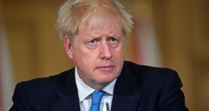 British prime minister Boris Johnson. Scotland's first minister Nicola Sturgeon condemned what she described as Mr Johnson's reckless approach to the negotiations. Photograph: PA Wire