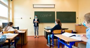 Association of Secondary Teachers Ireland general secretary Kieran Christie said schools had reopened when the number of coronavirus cases were a lot lower than they are now. Photograph: iStock