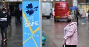 A recent image from Belfast city centre. Photograph: Charles McQuillan/Getty Images