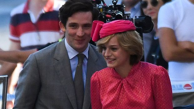 Charles and Diana played by Josh O'Connor and newcomer Emma Corrin in the fourth series of The Crown, on Netflix from November 15th.