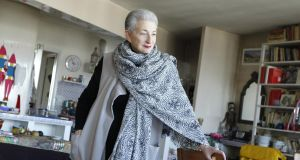 French writer and playwright Hélène Cixous at her home in Paris in August 2015. Photograph: Sophie Bassouls/Sygma via Getty Images