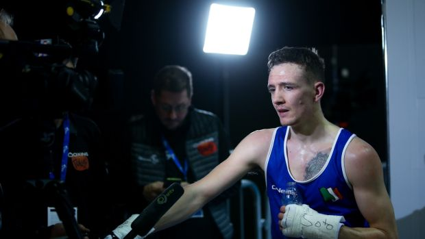 Ireland's Brendan Irvine is one of the boxing prospects. Photo: Andrew Fosker