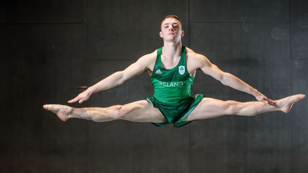 Irish gymnast Rhys McClenaghan could be a medal prospect. Photo: Dan Sheridan/Inpho