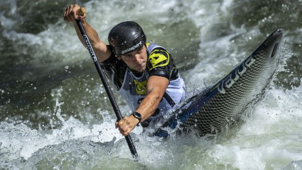 Liam Jegou will represent Ireland in the canoe slalom. Photo: Thomas Lohnes/Getty Images