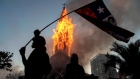 Riots, looting and churches burned as Chile anniversary rallies turn violent