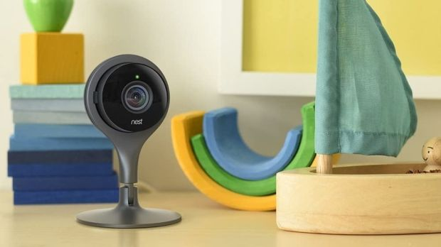 Google offers the Nest Cam (€138) or Nest Cam IQ (€344) for indoors. The main difference is the quality.